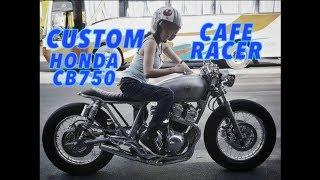 Download GarageVisits : Custom Honda CB750 Cafe Racer : Custom Garage Iron Macchina Video