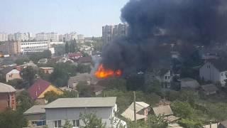 Download Масштабный пожар в Киеве Video