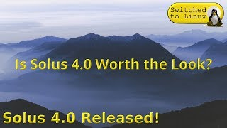 Download Solus 4.0 Release! Video