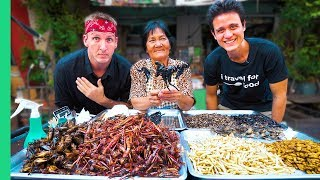 Download Exotic THAI FOOD Tour in Bangkok with Mark Wiens! Freaky Thai Food + Yummy Face Challenge Video