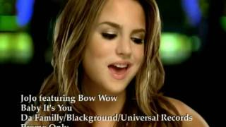 Download JoJo ft. Bow Wow - Baby It's You Video