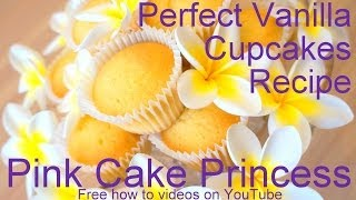 Download Vanilla Cupcakes Recipe! How to Make Vanilla Cupcakes Recipe Tutorial by Pink Cake Princess Video