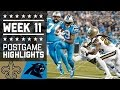 Download Saints vs. Panthers (Week 11) | Game Highlights | NFL Video