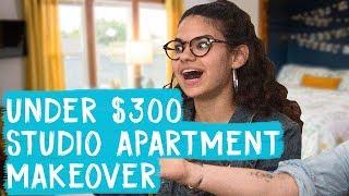 Download Studio Apartment Makeover for Under $300! | Mr. Kate Decorates Video