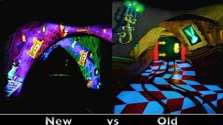 Download Alice In Wonderland : Side-by-Side Comparison (Before & After 2014 Refurbishment) - Disneyland Video