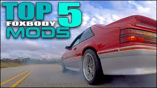 Download ((((( MY TOP 5 FOXBODY MODS ))))) + FOXBODY DRONE FOOTAGE Video