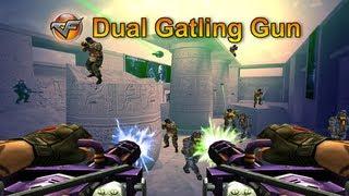 Download [CF] Dual Gatling Gun (RARE, UNSEEN WEAPON!) Video