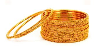 Download 4 Gold Bangles in 5 Grams || Latest Collection of Gold Bangles || New Trends Video