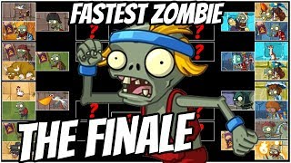 Download The FASTEST ZOMBIE! Captain Hack Wacky Race The Final Round- Plants vs Zombies 2 Epic MOD Video