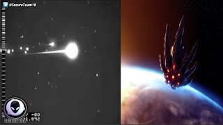 Download LEAKED Clip Of Alien Satellite Being Shot Down? 3/19/17 Video