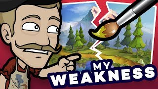 Download WORKING on my WEAKNESS: Developing my Environment Art! Video