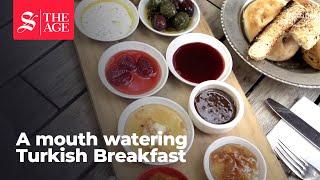Download Turkish breakfast: Feast your eyes Video