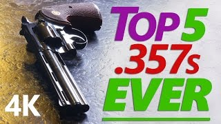 Download 4K: The Real Top Five .357 Magnum Revolvers ★ G.O.A.T. Edition ★ Video