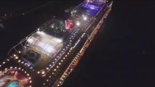 Download Carnival Vista leaving of Port of Miami. Video