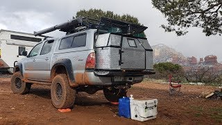 Download Nomad Living in a 4x4 Tacoma for 4 years - Truck Camper Walk Through Video