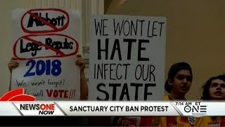 Download Texas Lawmaker Threatens Demonstrators With Gun Violence During Sanctuary City Ban Protest Video