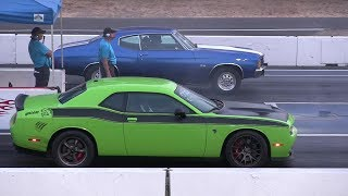 Download Old vs New Muscle Cars Drag Racing Video