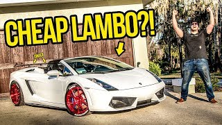 Download I Just Bought The Cheapest Lamborghini In The Country! Video