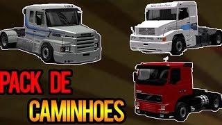 Download Euro Truck Simulator 2 - Mod Pack de Caminhões Brasileiros v1.23 Video