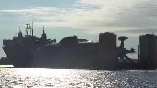Download Судно ″Трансшельф″ с двумя атомными подлодками на борту Video