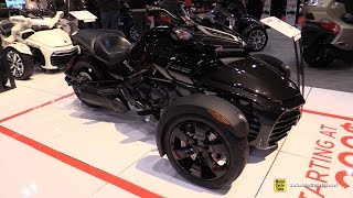 Download 2017 Can Am Spyder F3 - Walkaround - 2017 Toronto Motorcycle Show Video