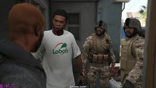 Download GTA V - Franklin & Trevor with MARPAT Outfits (Hood Safari walkthrough - 1440p Gameplay) Video