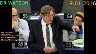 Download VERHOFSTADT GETS ANGRY WHEN FARAGE EXPOSES COLOGNE COVER-UP DURING MIGRANT DEBATE Video