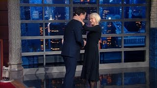 Download Helen Mirren Leaves Stephen Speechless Video