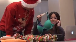 Download GIVING AWKWARD GIFTS PRANK!! Video