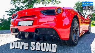 Download Ferrari 488 Spider (670hp) - pure SOUND (60FPS) Video