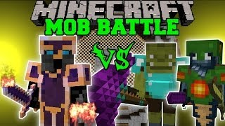 Download PYRO VS TRITON, SHAMAN, & MORE - Minecraft Mod Battle - Mob Battles - Mods Video