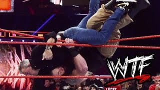 Download WTF Moments: WWE RAW (Nov 14, 2016) Video