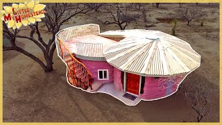 Download The Family Builds Shae's Earthbag Bedroom | Full Version Movie Video