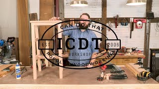 Download How to Make a Mortise and Tenon Shop Stool | I Can Do That! Video