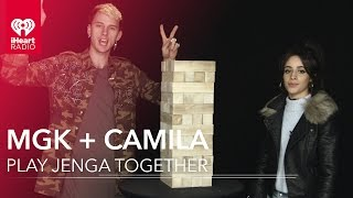 Download Camila Cabello Learns How to Play Jenga from Machine Gun Kelly Video