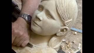 Download Wood carving Granddaughter ″Jane″ Video
