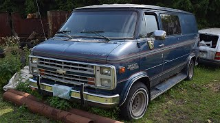 Download Starting Chevrolet Chevy Van G20 Beauville After 1 Year (OM603) (1080p) Video