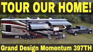 Download Grand Design Momentum 397TH (2018) Full Time RV Tour! | Changing Lanes Video