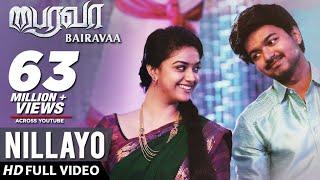Download Nillayo Video Song | Bairavaa Video Songs | Vijay, Keerthy Suresh | Santhosh Narayanan Video