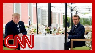Download Trump lunches with Macron amid tension on tariffs Video