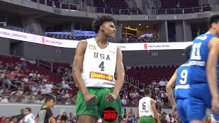 Download Jalen Green POSTERIZES 7 Footer Kai Sotto AGAIN! Filam Sports USA Defeats Ateneo 90-67 Video