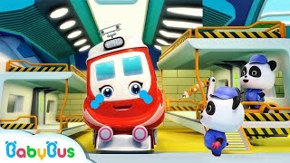 Download Baby Panda Repairs Super Train | Super Rescue Team | Monster Cars | Baby Cartoon | BabyBus Video