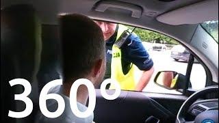 Download Policja zatrzymała mnie za jazdę po buspasie | DZIAŁAJĄCE wideo 360 stopni – elektrowoz.pl Video