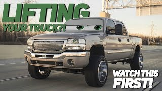 Download 5 Things you NEED to think about BEFORE you lift your truck Video