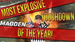 Download Madden 18 :: Most EXPLOSIVE Touchdown Of The Year! Madden NFL 18 Online Gameplay Browns Vs. Broncos Video