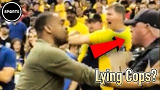 Download Eyewitness Says Cops Are LYING About Masai Ujiri Fight Video