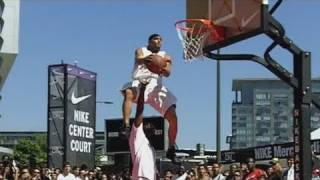 Download 19 Dunk Contest Dunks that have NEVER been done in the NBA Dunk Contest | Team Flight Brothers Video