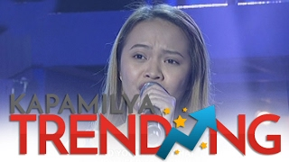Download Regine Reyno sings Through The Rain Video