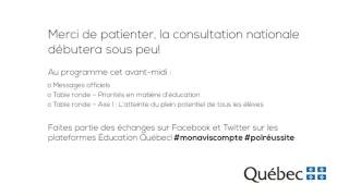 Download Consultation nationale sur la réussite éducative – Jour 1 (AM) Video