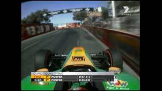 Download ChampCar : Will Power Qualification Laps (Surfers Paradise 2007) Video